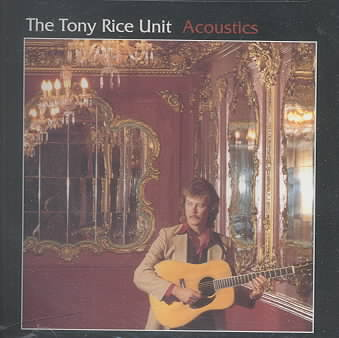 ACOUSTICS BY RICE,TONY (CD)