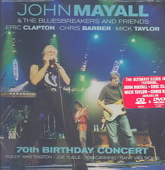 70TH BIRTHDAY CONCERT BY MAYALL,JOHN & FRIEN (CD)